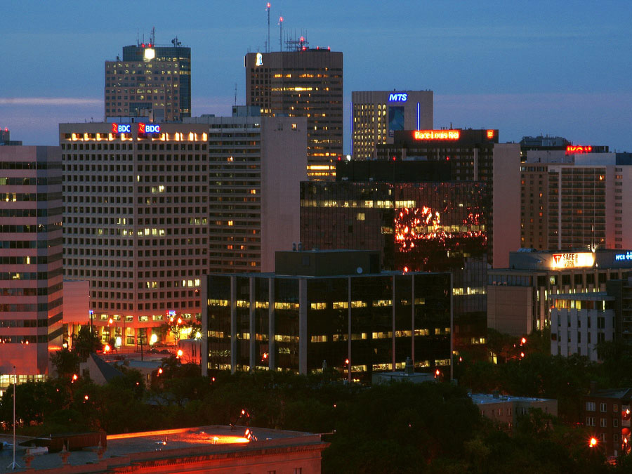 Digital Antenna Map >> Radio stations in Winnipeg, Manitoba, Canada — World Radio Map
