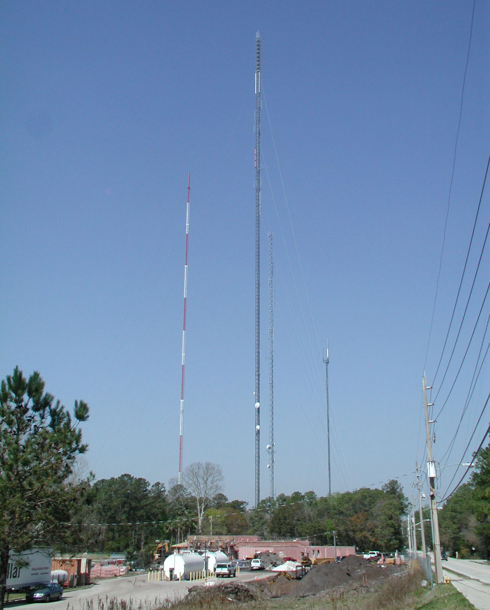 Radio stations in jacksonville florida world radio map for Farmhouse tower